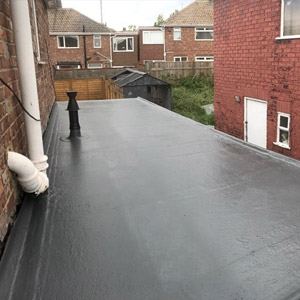 flat roof in gosforth