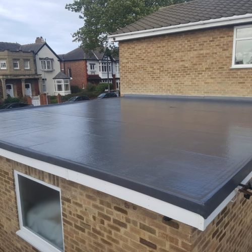 grp flat roof waterproofing