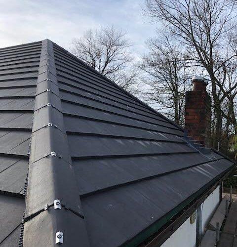 new roof ridge tiles