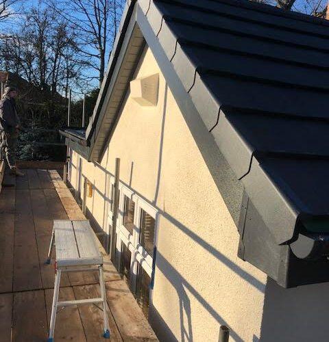 new roof ridgework
